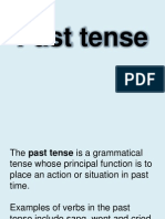 ELA Simple Past Tense Print