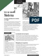 Las mujeres en la Edad Moderna (Joaquín Seró)