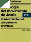 Sociologc3ada Del Movimiento de Jesc3bas Gerd Theissen1