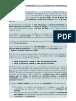 Los Contratos Menores en La Ley de Contratos Del Sector Publico
