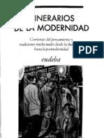 Itinerarios de La Modernidad - Casullo, Forster y Kaufman - Eudeba,2009