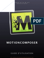 Quickstart Motion Composer Fr