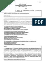 Guía comprensión lectora y Léxico contextual PSU NM2