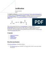 Steglich esterification