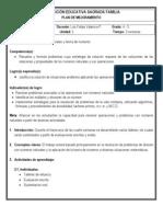 Plan de mejoramiento 4-3 (Matemáticas - 2º periodo)