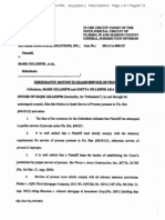 Doc 3 Motion to Quash Service, 02-04-2013