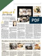 Best Fine Dining Restaurants in Jozi + Best Breakfasts in Jozi