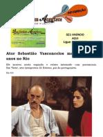 Ator Sebastião Vasconcelos morre aos 86 anos no Rio
