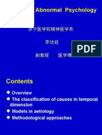 Chapter 11 Aetiology of Psychiatry