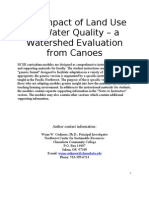 Impact of Land Use on Water Quality
