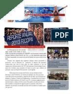 FECOPA Reporte Presidencia 2013