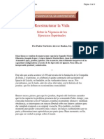 Alcover Ibañez, Norberto - Restucturar la Vida-Vigencia de los Ejercicios Espirituales