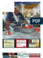 The July 18, 2013, edition of The Resorter