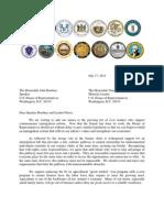 Governors Immigration Reform Letter