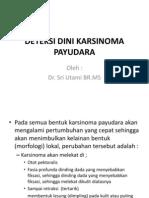 Deteksi Dini CA Payudara
