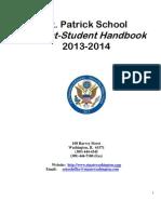 St  Patrick Parent-Student Handbook_2013-2014 final draft.pdf