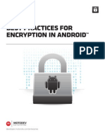 MFE Encryption Android WP
