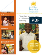 Arts for Learning Indiana 2013 Catalog.pdf