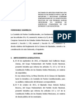 Dictamen Disciplina Financiera de Los Estados y Los Municipios