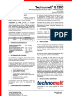 Ficha Técnica Technomelt® Q 2300 (español) (1)