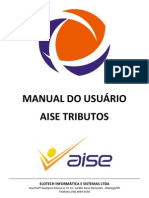 Manual Completo - Sistema AISE Tributos