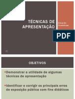 Técnicas de apresentação
