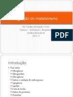 Integração do metabolismo
