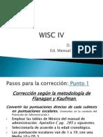3.WISC IV Procedimiento Analisis
