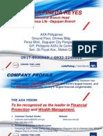 Axa Presentation