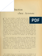 De l'Induction Chez Aristote