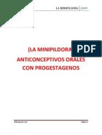 La Minipildora de Solo Progestageno