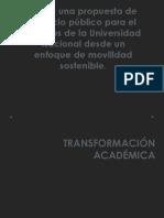 Transformacion Academica