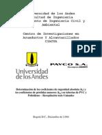 48980128 02 Recopilacion Determinacion de Ks y Km Tuberias PVC y Polietileno