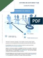 Examenes de Lengua Grado Superior Andalucia