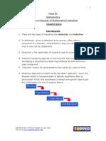 XI Math Ch4 PrincipleOfMathematicalInduction ChNotes Aug
