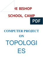 Project of Computer TOPOLOGIES