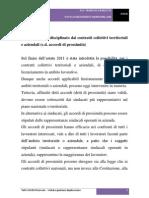 Il licenziamento disciplinato dai contratti collettivi territoriali e aziendali (c.d. accordi di prossimità)
