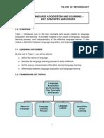 Module Elt (Methodology)
