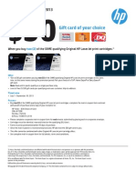 HP q3 $30 Gift Card Rebate - Solidia, Inc.