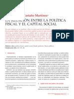Relación entre política fiscal y capital social