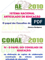 apresentação papel do conselho de educação