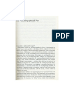 Autobiographical Pact (on Autobiography Pp3-30 by Philippe Lejeune)