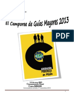 Camporee Guias Mayores 2013