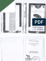 Arqueologia de La Escuela Fernando Alvarez Uria y Julia Varela