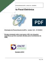 Orientacao Preenchimento NF-e V103