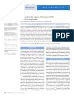 Perspectives for Cancer Prevention With Natural Compounds