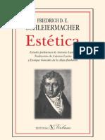 Schleiermacher - Estetica