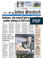 Chelsea Standard Front Page for July 18, 2013