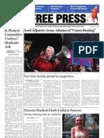 New School Free Press April 27, 2009