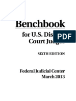 Benchbook-For-usdc-judges 6th Ed. Mar 2013